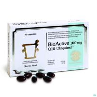 Bioactive Q10 20 Gélules 100 Mg