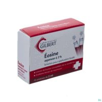 Gilbert Eosine 2 % Solution Aqueuse 10 x  2 Ml