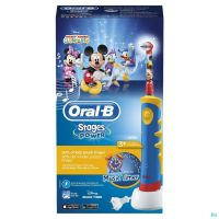 Oral B Plak Control Kids Blue D10513 Brosse à Dents Electrique Mickey