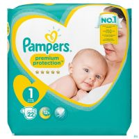 Pampers Premium Protection Carry Pack S1 22