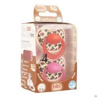 Bibi happiness sucette tiger 0- 6m duo