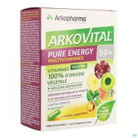 Arkovital Pure Energy 50+ Caps 60