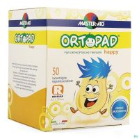 Ortopad Happy Regular Compresses Oculaires 70134 50 Pièces