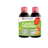 Turbodraine Agrumes Forte Pharma 2x500ml
