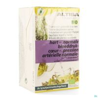 Altisa Tisane Pression Sanguine Bio 20x2g
