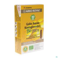 Phytofluide Gelee Royale 20 Ampoules 1500 Mg