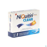 Niquitin Clear 14 Patchs 21 Mg