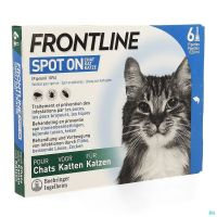 Frontline Spot On Chat 10% Pipet 6x0,50ml