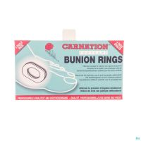 Carnation Bunion Rings Ovale