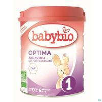 Babybio Optima 1 Lait Nourrissons 800g