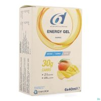 6d Sixd Energy Gel Mango 6x40ml