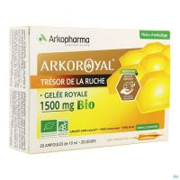 Arkoroyal Gelee Royale Bio 1500mg Amp 20x10ml