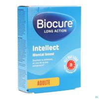 Biocure Long Action Intellect Mental Boost Comprimés 30