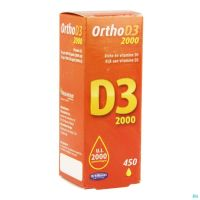 Orthonat Ortho D3 2000 Gouttes 20 Ml
