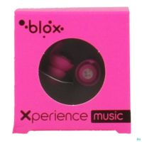 Blox Xperience Bouchon Oreille Rose Fluo
