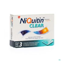 Niquitin Clear 14 Patchs 7 Mg