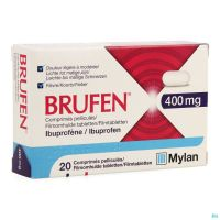 Brufen 400mg Comp Pell Tabl 20 X 400mg