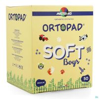Ortopad Boys Soft Medium Compresses Oculaires 50 Pièces