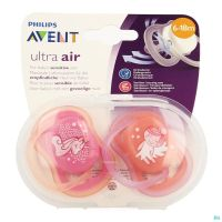 Philips Avent Sucette +6m Air Boy Deco Scf344/22