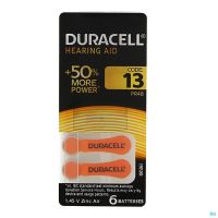 Duracell Pile Auditive Easy Tab Da13 6 P