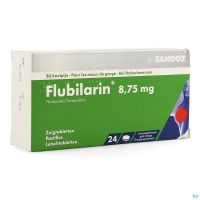 Flubilarin 8,75mg Comp A Sucer 24 Blister