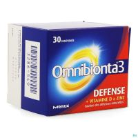 Omnibionta-3 Defense Pot Comprimés 30