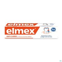 Elmex Dentifrice Anti-caries Rouge 75 Ml