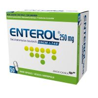 Enterol 50 Gélules 250 Mg