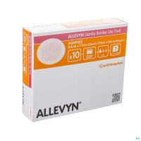 Allevyn Gentle Border Lite Oval Small 10 66801013