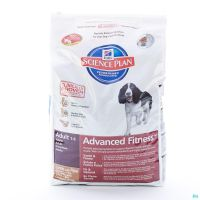 Hills Science Plan Chien Advance Fitness Adulte Agneau RIz Croquettes