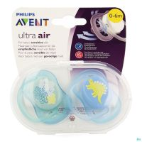 Philips Avent Sucette +0m Air Boy Deco Scf344/20