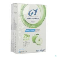 6d Sixd Energy Fruit Apple 12x32g