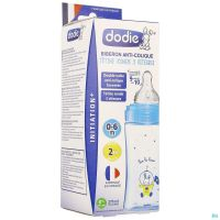 Dodie Biberon Initiation+ Cosmonaute Bleu 270ml