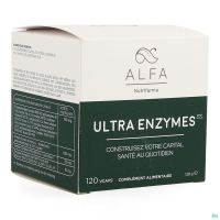 Alfa Ultra Enzymes Vcaps 120