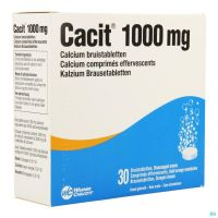Cacit 1000 Mg 30 Comprimés Effervescents