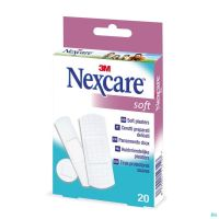 N0520as Nexcare Soft Strips Assortiment 3 Tailles