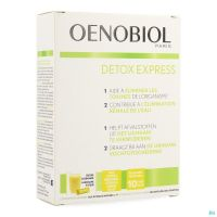 Oenobiol Detox Express Gingembre/Citron 10 Sticks