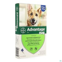 Advantage 400 Chiens 25<40kg 4x4ml