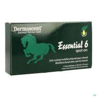 Dermoscent Essential 6 Spot-on Cheval Pipet 4x30ml