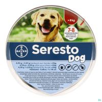 Seresto Chien 4,5g + 2,03 Collier (Plus de 8kg)