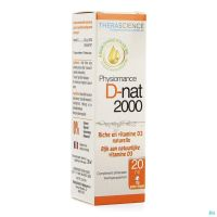 D-nat 2000 Fl Gutt 20ml Physiomance Phy341