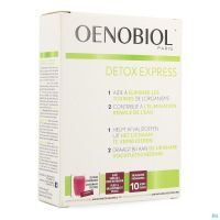 Oenobiol Detox Express Baie Sureau/ Fruit du Dragon 10 Sticks
