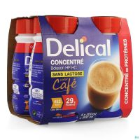 Delical Concentre Cafe 4x200ml