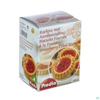 Prodia Biscuits Fourres A Fraise 150 G