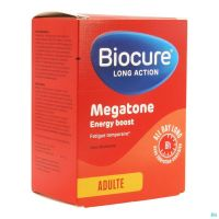 Biocure Long Action Megatone Energy Boost Comprimés 60