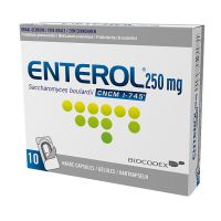 Enterol Alublister 10 Gélules 250 Mg