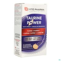 Energie Taurine Power Forte Pharma  30 Comprimés Effervescents