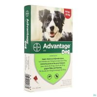 Advantage 250 Chiens 10<25kg 4x2,5ml