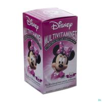 Disney Multivitamines Minnie Mouse 60 Ca