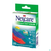 N1120asc Nexcare Comfort Strips 360° Couleurs
